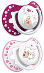 Lovi Dynamic Soother 2pcs Night & Day 22/809 Girl 0-3m