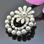 Vincento Brooch With Zirconium Crystal LD-1204
