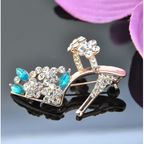 Vincento Brooch With Zirconium Crystal LD-1232