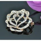 Vincento Brooch With Zirconium Crystal LD-1183