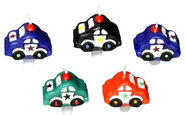 Papstar Candles With Holders Cars 5PCS