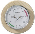 Moller-Therm Sauna Thermometer - Hygrometer Ø130mm