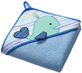 BabyOno TERRY Hooded Towel 76x76cm 141/04 Blue