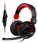 Sven AP-G777MV Headphones w/Mic Black Red