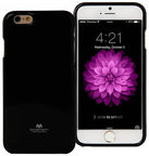 Mercury Jelly Back Cover For Apple iPhone 6/6s Black