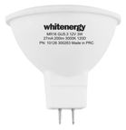 Whitenergy LED Bulb GU5.3 5W 230V Milky