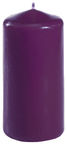Papstar Cylinder Candle Purple