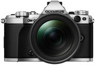 Olympus OM-D E-M5 Mark II Silver + 12-40mm F2.8 Lens Black + Battery Holder Grip HLD-8 + Battery BLN-1 Black