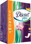Discreet Plus Deo Water Lily Plus Pantyliners 50pcs