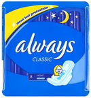 Always Classic Night Pads 8pcs