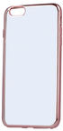 Telone Silicone Back Case For Huawei P9 Lite Mini Transparent/Rose Gold