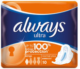 Always Ultra Normal Plus Pads 10pcs