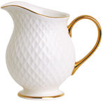 Quality Ceramic E Clat Gold Cream Bowl 270ml