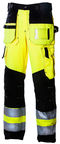 Dimex 6310 Trousers Black/Yellow 56