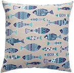 Home4you Cushion Summer 45x45cm Fish