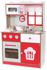 EcoToys Wooden Kitchen With Accessories 4253