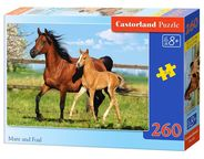 Castorland Puzzle Mare And Foal 260pcs