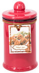 Home4you Candle In Jar Pottery D6xH11,5cm Red