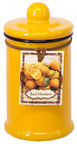 Home4you Candle In Jar Pottery D6xH11.5cm Yellow