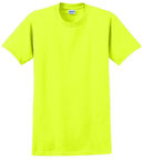 Gildan Cotton T-Shirt Yellow XL