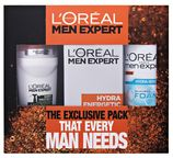 L`Oreal Paris Men Expert Hydra Sensitive Shaving Foam + After Shave Balm + Deo Roll On