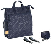 Lassig Buggy Bag Reflective Star Navy