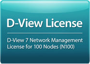 D-Link Licence for D-View 7.0 DV-700-N100-LIC