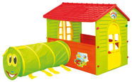 Mochtoys Garden House With Tunnel 11266