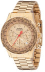 Detomaso Mens Firenze Steel Chronograph Watch SM1624C-GD