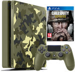 Sony PlayStation 4 (PS4) Slim 1TB Camouflage Limited Edition + Call Of Duty: WWII