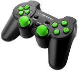 Esperanza Warrior USB Gamepad Black/Green