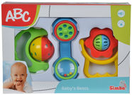 Simba ABC Baby Rattle Set 104018066