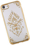 Beeyo Glamour Series Floral Back Case For Samsung Galaxy J5 J530 Transparent/Gold