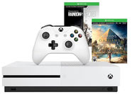 Microsoft Xbox One S 1TB White + Assassins Creed Syndicate + Tom Clancys Rainbow Six Siege + 1M Gold