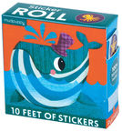 Mudpuppy Under The Sea Sticker Roll