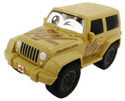 Dickie Toys Jeep Rubicon Squeezy 203811001 Beige