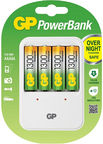 GP Batteries PB420 AAA/AA Battery Charger White