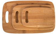 Home4you Cutting Board Set Bamboo Home 3pcs