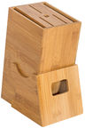 Home4you Knife Holder Bamboo Home H22cm