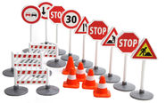 Lena Truxx Traffic Signs Set 04440
