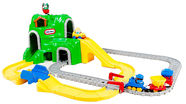 Little Tikes Peak Road 'n Rail Set