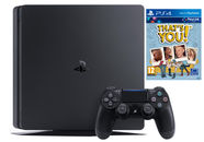 Sony PlayStation 4 (PS4) Slim 500GB Black + That's You