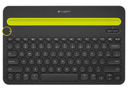 Logitech K480 Bluetooth Multi-Device Keyboard EN/RUS Black
