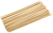 Home4you Skewers Bamboo 30cm 100pcs