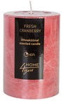 Home4you Candle Fresh Canberry D6.8xH9.5cm