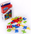 Zinber Magnetic Numbers And Russian Letters 33pcs