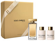 Dolce & Gabbana The One 100ml EDT + 100ml Shower Gel + 100ml Body Lotion