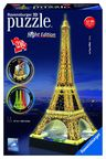 Ravensburger 3D Puzzle Eiffel Tower With Lights 125791