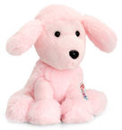Keel Toys Pippins Soft Poodle Pink