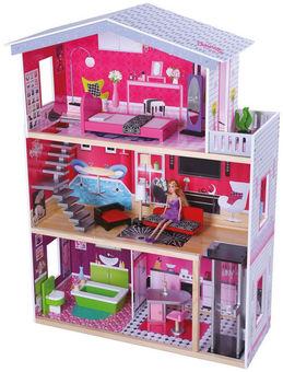 Gerardos Toys Wooden Dollhouse Christella 41279 Aksessuary Dlya